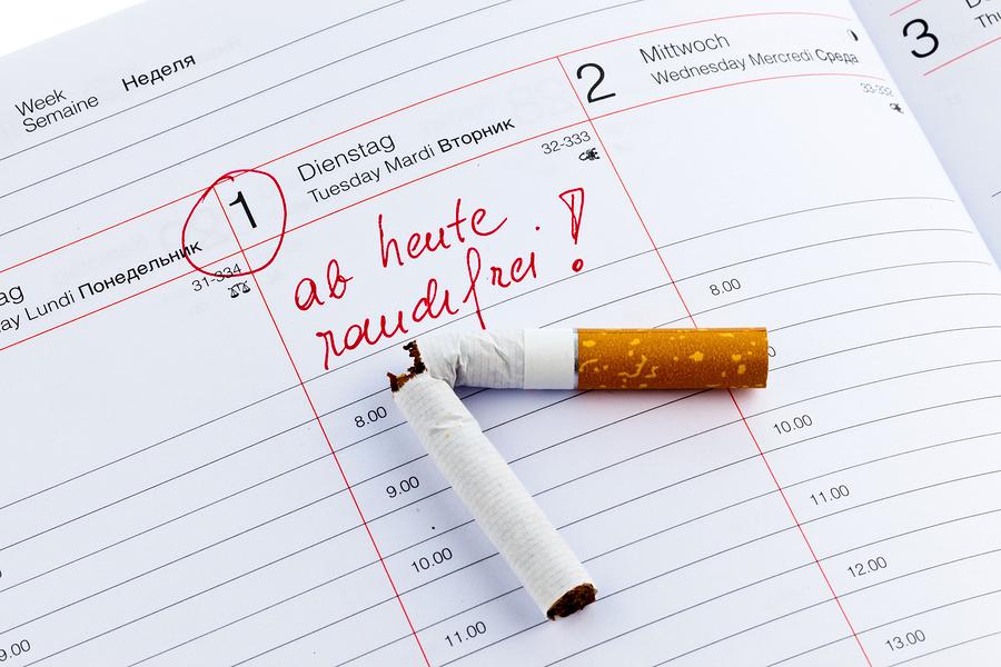 Erholung korper rauchen aufhoren