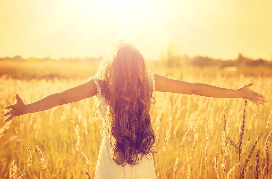 Vitamin-D durch Sonnenstrahlen