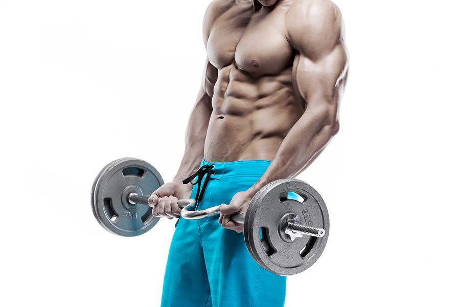 Muskelaufbau mit Eiweißpulver