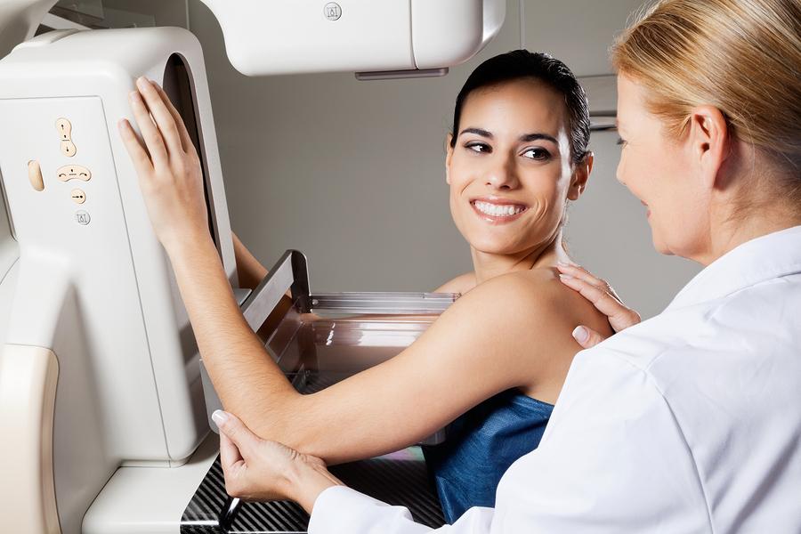 Mammografie Röntgen Test