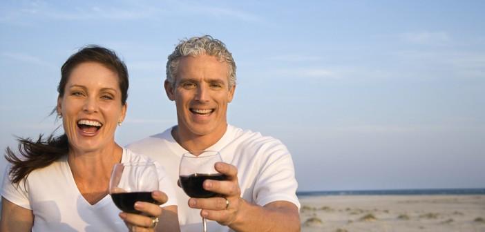 Rotwein gegen Herzinfarkt