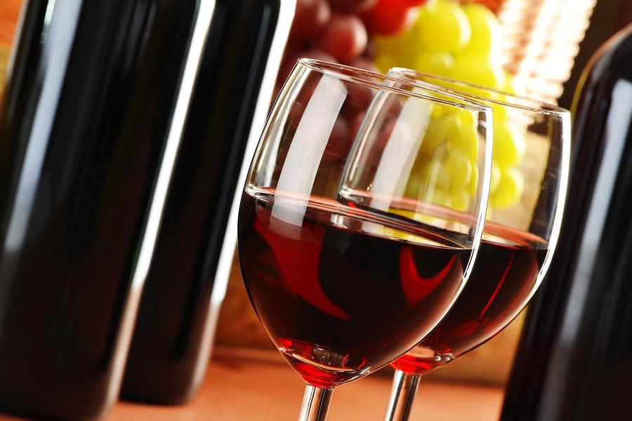 Rotwein in Maßen