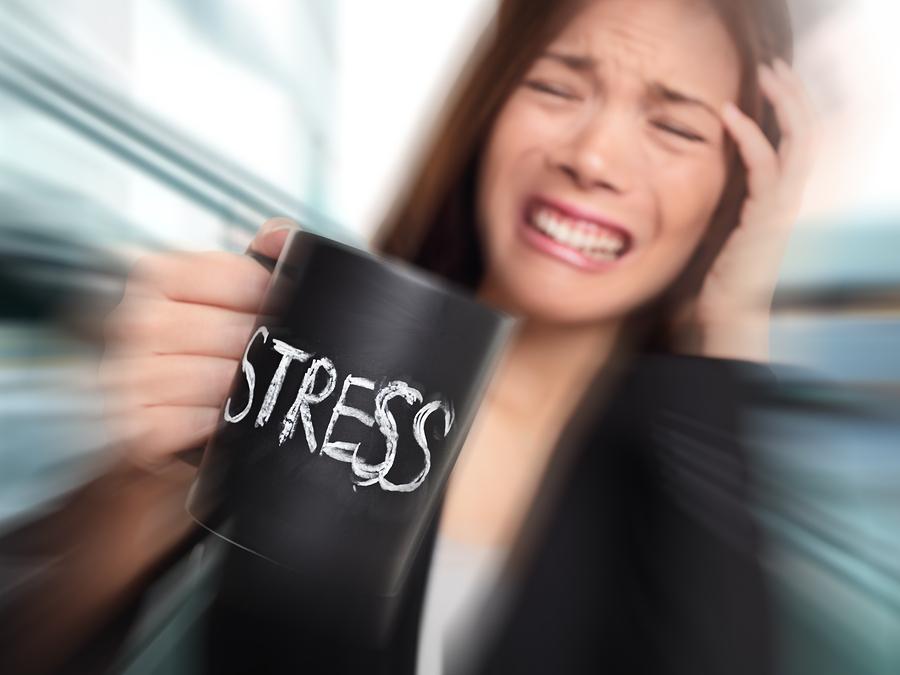 Stresssituationen - Eine Belastung für Körper und Geist