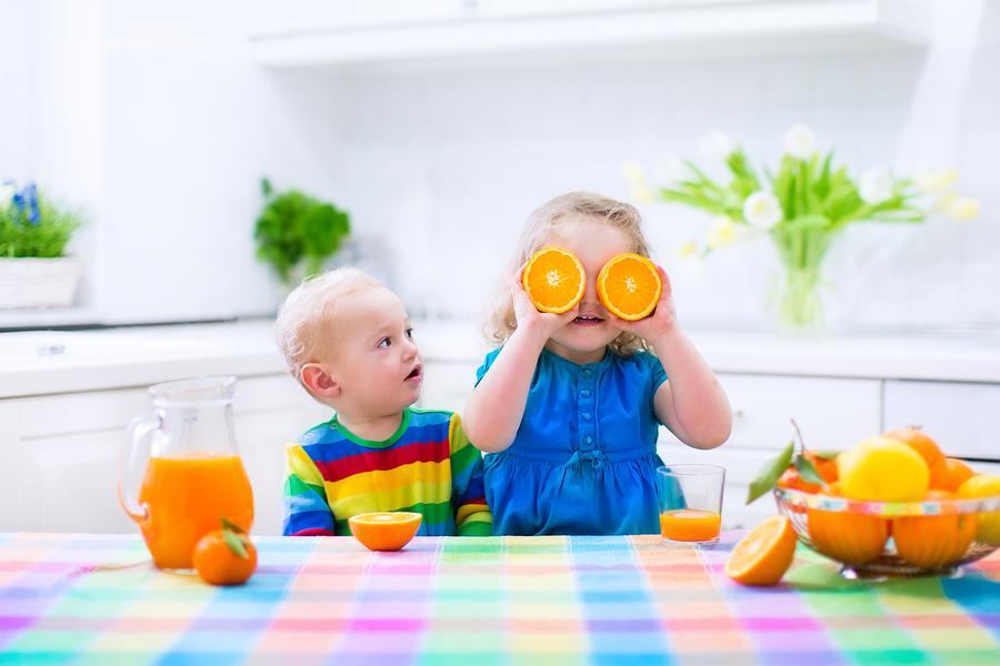 Gesunde Frühstück für Kinder