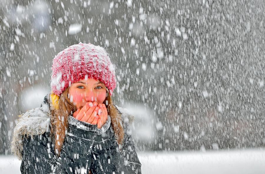 Kalte Hände im Winter