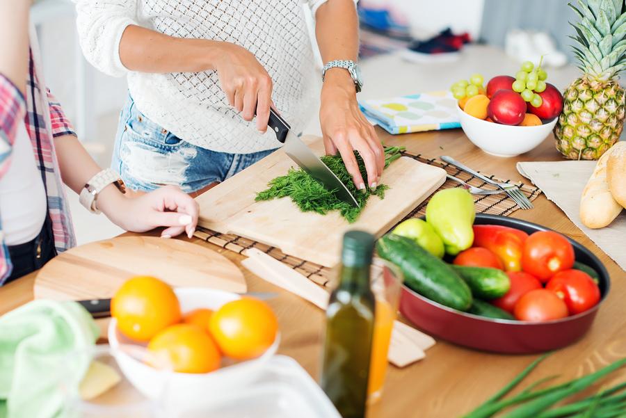 gesundes Essesn zubereiten