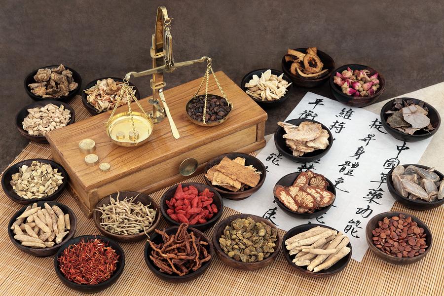 Traditionelle chinesische Medizin Diät zur Gewichtsreduktion