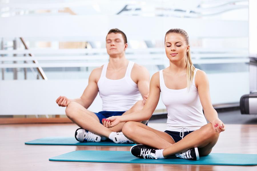 Richtige Yoga Matte