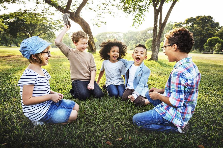Kinder Freundschaften