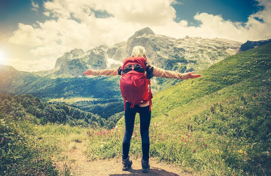 Wandern in den Bergen als klassischer Wanderurlaub